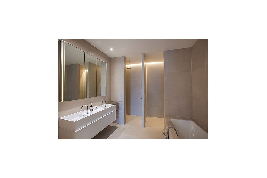 Maximum floor and wall cladding for bathrooms is made from 100% natural materials.