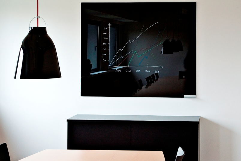 ChatBoards are magnetic glass memo boards and mobile whiteboards.