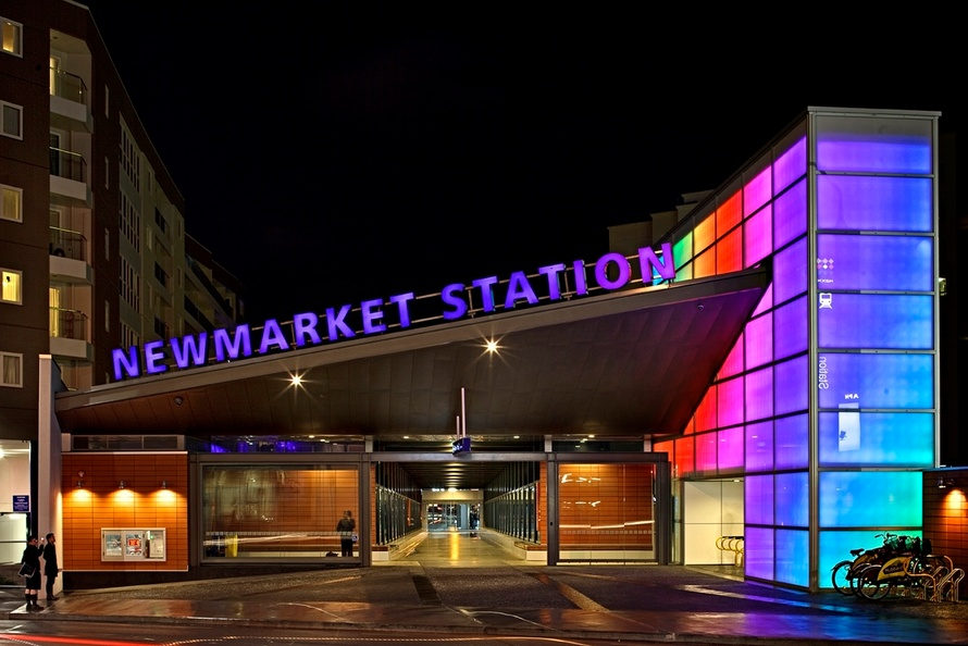 Philips LED solutions brings Newmarket Train Station to life
