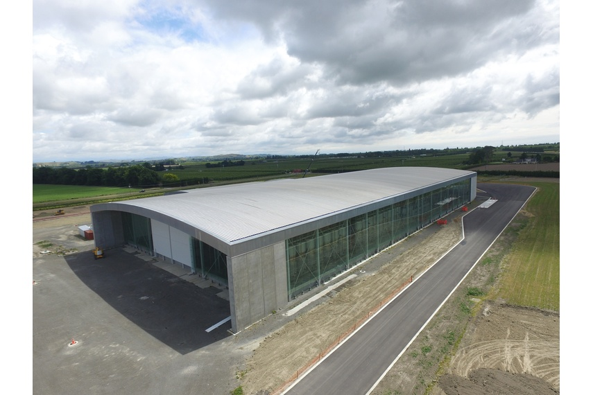 Delegats Winery, Hawkes Bay, using Kingspan's Kingzip SF roof panel. Kingspan insulated roof panels provide building envelope solutions combining aesthetics, longevity and thermal insulation.