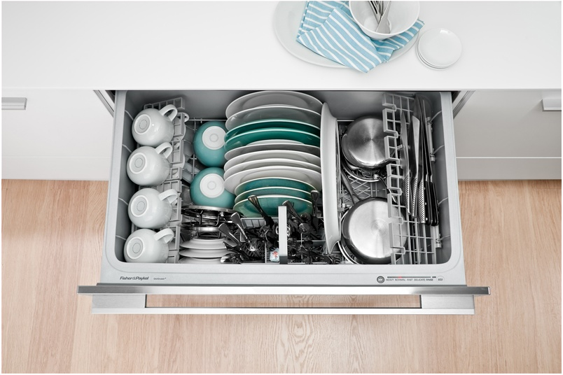 DishDrawer® Wide with a 90cm drawer configuration
