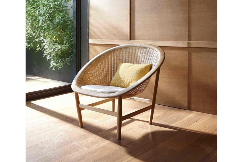 The Basket chair has been reinvented by Kettal.