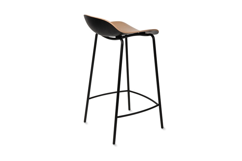 3D stool - back view.